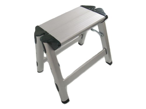 Aluminium Step Up Stool - Hop Fold Away Lightweight Platform
